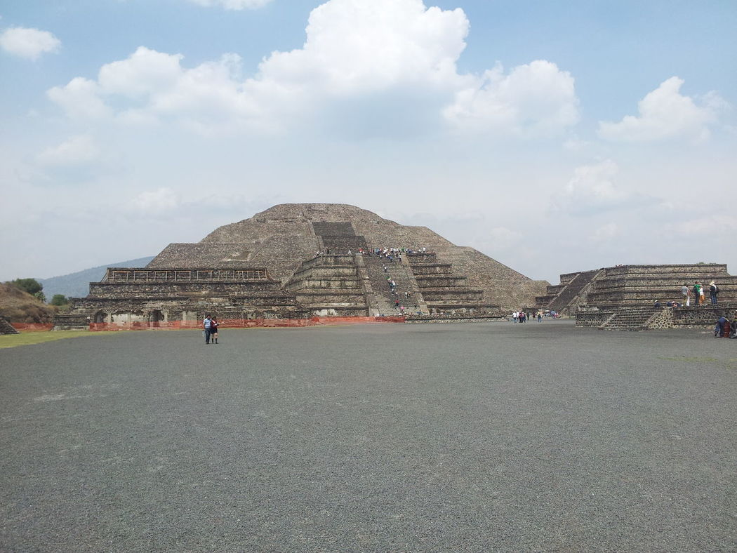 Human Settlement Mexico Moon Pyramid Teotihuacan