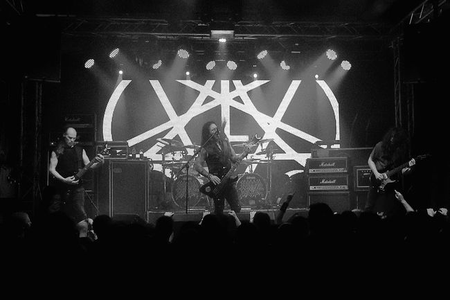 .::MorbidAngel::. DCLXVI Heavy Metal Death Metal MADE IN SWEDEN Black And White Blackandwhite Hail Satan Black And White Excellence Live Music