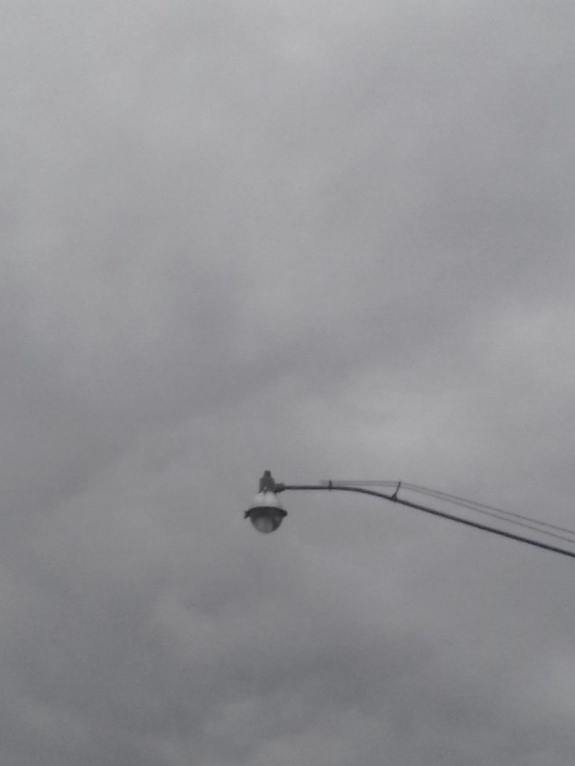 Retro Streetlight Cloud - Sky Low Angle View Outdoors Day No People Simplicity