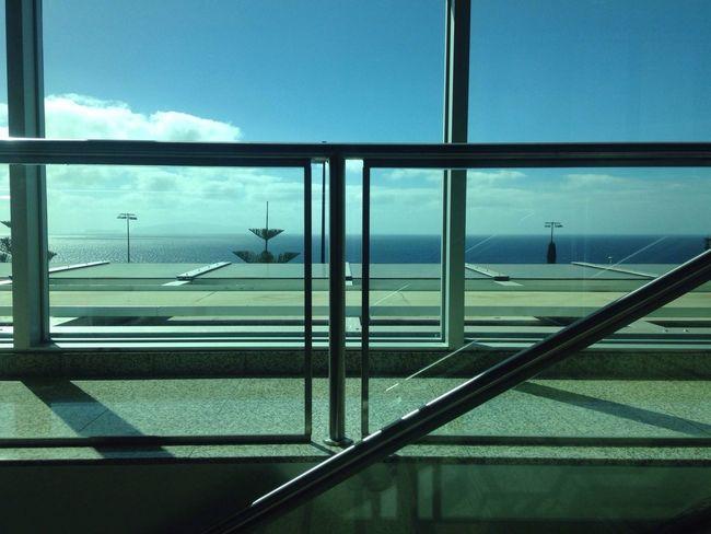 Madeira airport Welcome View Sky True Blue