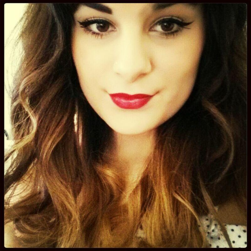 always love red lipstick x Taking Photos