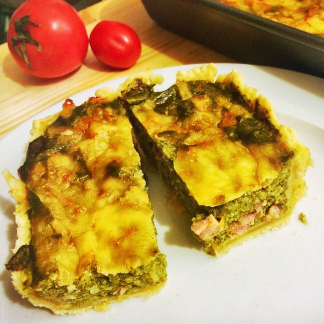 Quiche Quiche Food Food And Drink France France Food Tomato Spinach Cooking