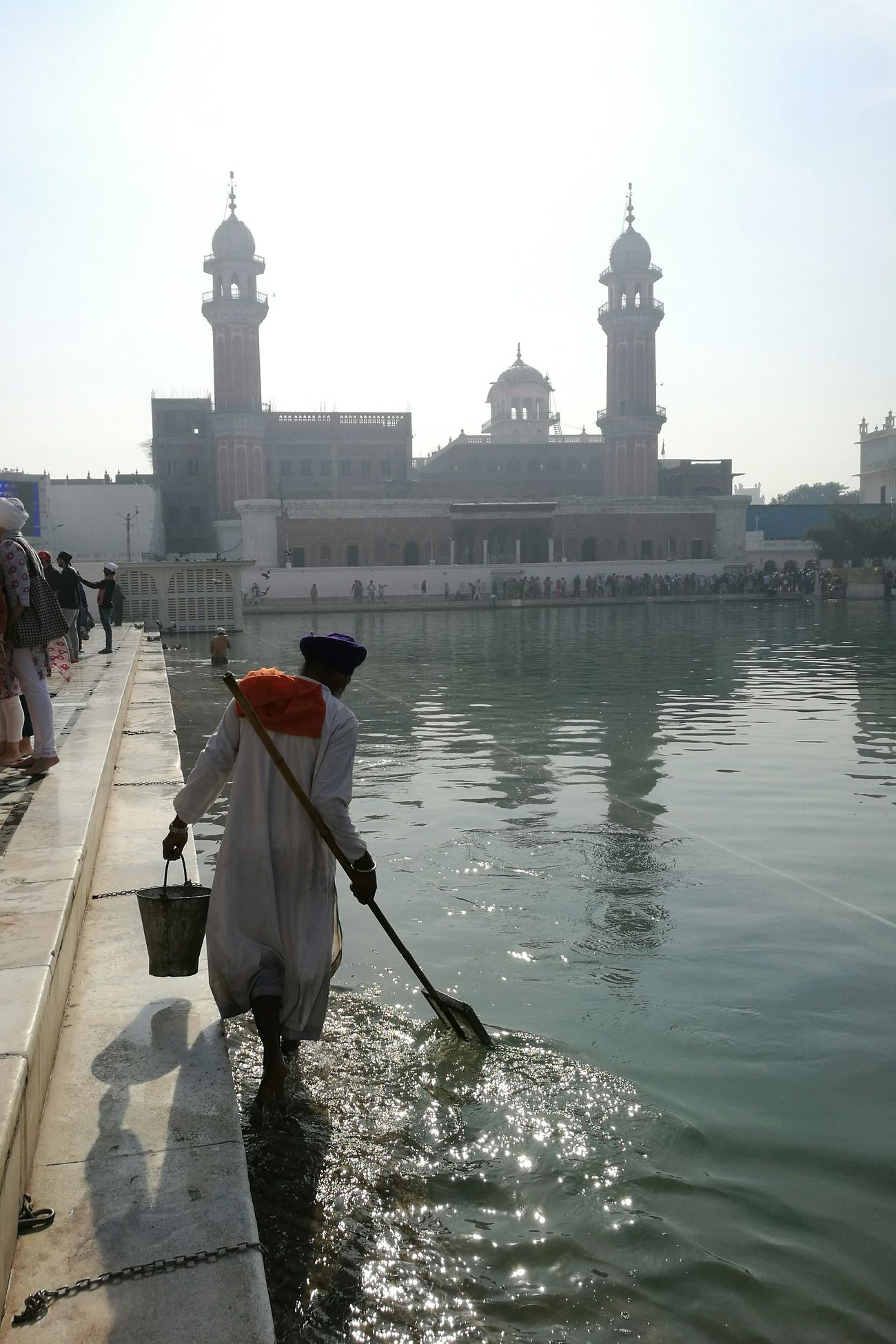 Golden Temple, Amritsar, India. Amritsar Punjab The City Light Religious Architecture Golden Temple Water EyeEmNewHere