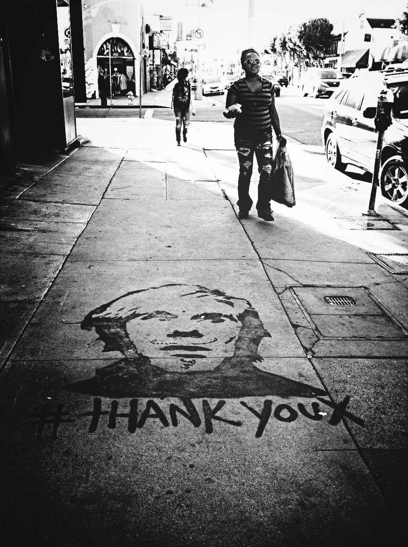 Street Art_bw