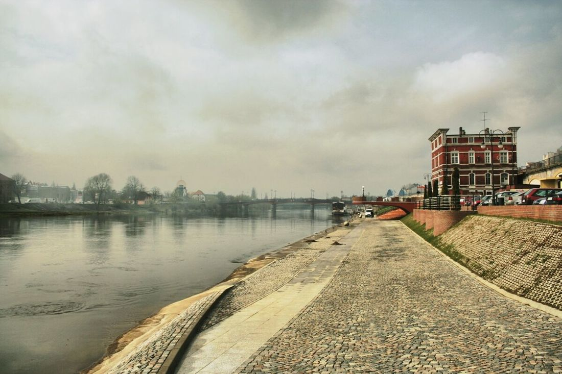 Gorzów Wielkopolski Photo Architecture River River View Warta Traveling EyeEm The Best Shots Cityscapes Panorama