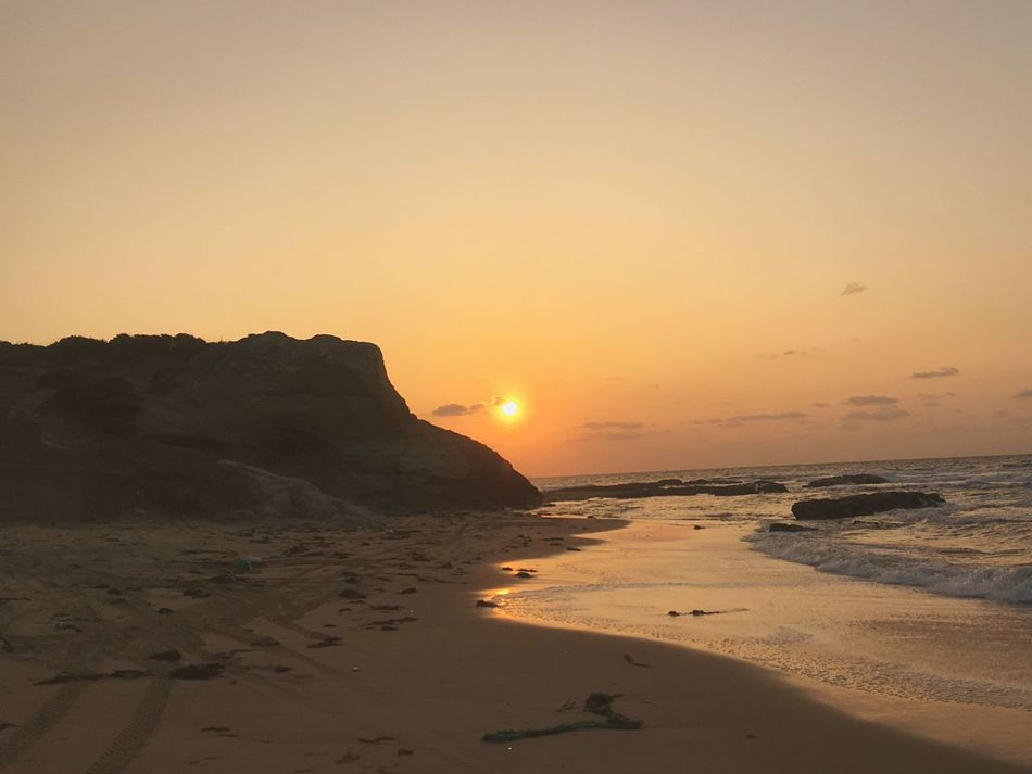 Sunset Landscapes With WhiteWall Love Earth Beautiful Waves, Ocean, Nature Sea And Sky Beach Rock Feel The Earth