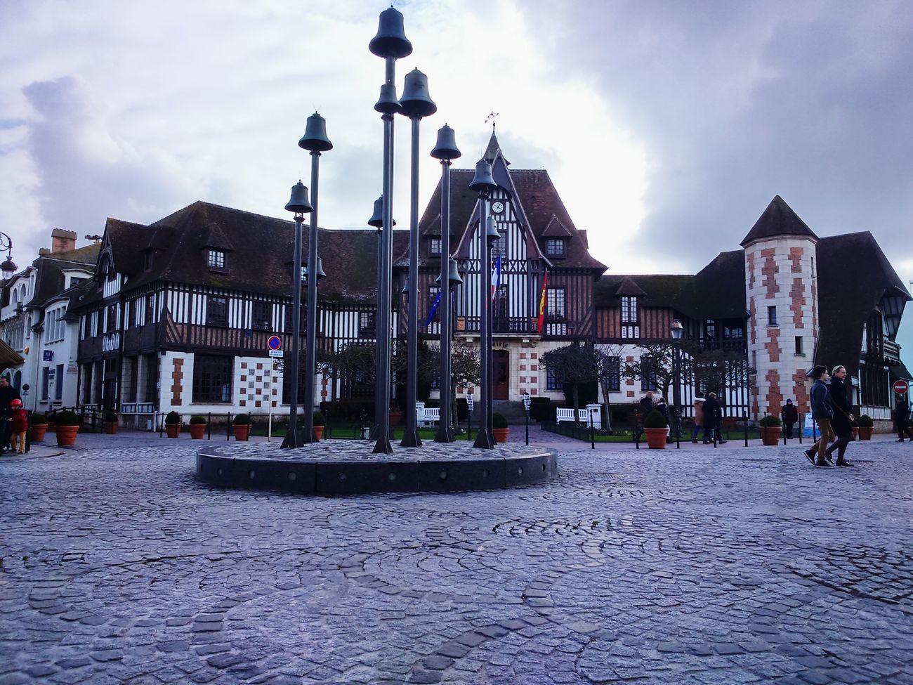 Les cloches de Deauville Cloches Bells Carrefour Crossroads Hôtel De Ville Cityhall Eyeem Urban Photography Deauville France Feel The Journey
