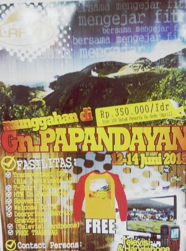 Open trip yuk ah CP RAYEN : 08989024146 Exploreindonesia Papandayan_mountain Opentrip INDONESIA Indonesia_photography EyeEm Indonesia Check This Out Wonderful Indonesia Indonesia_allshots Indonesian Street (Mobile) Photographie
