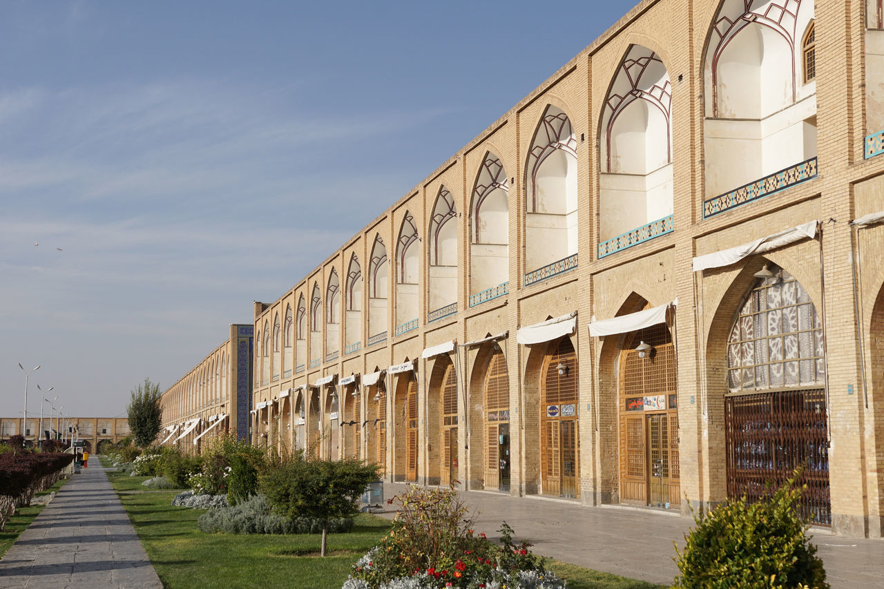 Meydan-e Imam, Isfahan, Iran, Asia Architecture ASIA Building Exterior Built Structure Central Asia City Day Esfahan Famous Place Iran Isfahan Meydan-e Imam Middle East No People Outdoors Panorama Persia Sights Sightseeing Silk Road Square Tourism Tourist Attraction  Travel Travel Destinations