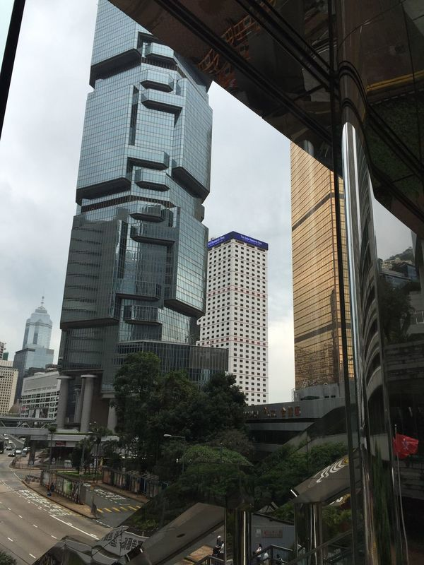 Office building in Admirality of Hong Kong Hong Kong Admiralty Office Building Business Finance Economy Economics Enterpernuer Enterprise Administration