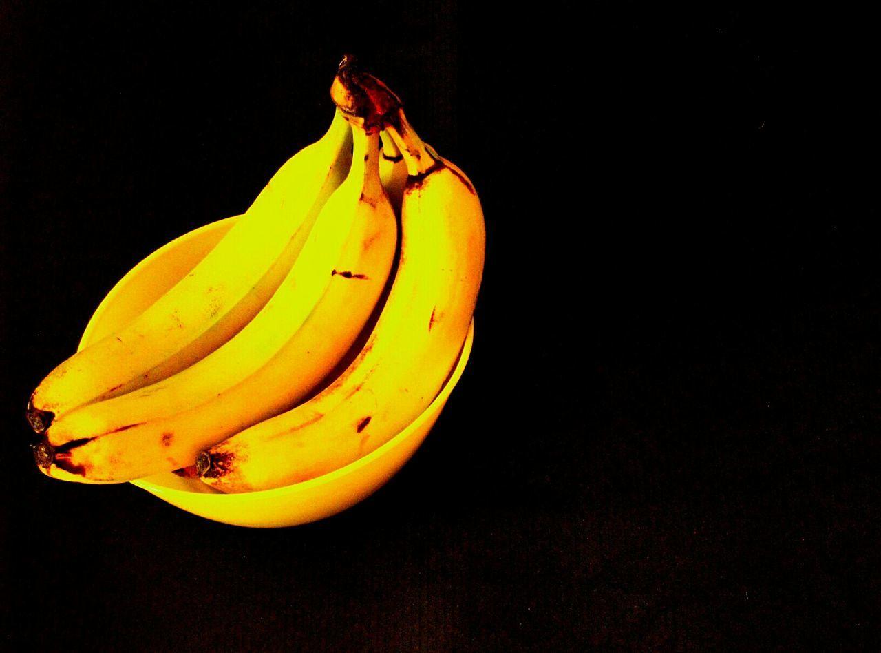 Bananas Banana Banana Gun Food Food Photography My World Of Food Fruit Fruits Minimal Minimalobsession Minimalism Interior Views No People Yellow Shades Of Yellow Close-up Close Up Bowl Yellow Bowl Telling Stories Differently Black Background Vitamins Nutritious Diet Dietfood