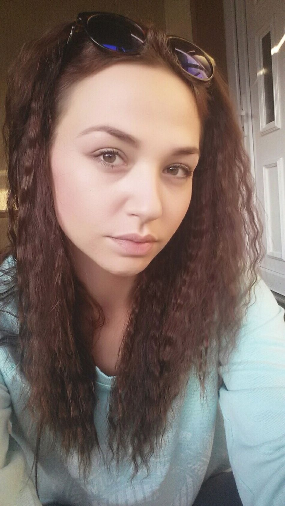 Sun Chilling Nomakeup Natural Look Curlyhairdontcare Mermaidhair Selfie ✌ Faces Of EyeEm Hairstyle Browgame