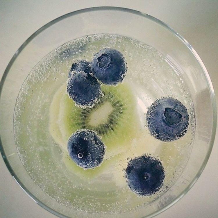 本日夏日特調。Blueberry Kiwi Lemon Lime SPELLECRINO Summerdrinks