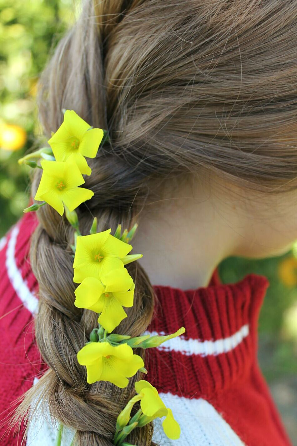 Flowers Flores Me Trenza Hair Pelo Nature Spring Brown Marron Yellow Amarillo Green Verde Naturaleza Trees Arboles Malaga Yo Red Rojo White Blanco Recuerdos Memory