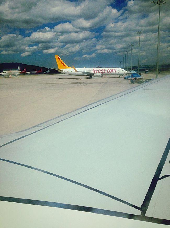 Hello World Enjoying Life On The Plane Travelling On The Plane ✈ Plane Airport