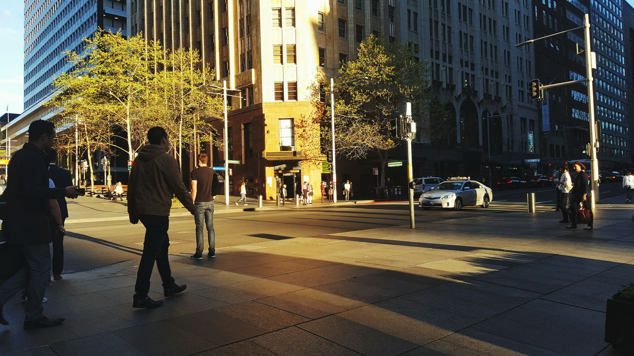The harsh afternoon sun. Much like my day. City Street City City Life Street Photography Walking Around The City  Home Time! People Watching Afternoon Light Toughday