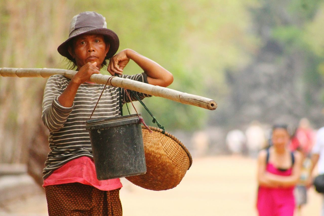 Women Who Inspire You Close-up Day One Person Streetvendor Period Costume Woman At Work Working People Working Hard Warrior - Person Cambodia Rural Scene Tourism Cambodian Woman Cambodian Life Real Life People People_and_world People Watching EyeEm Best Shots