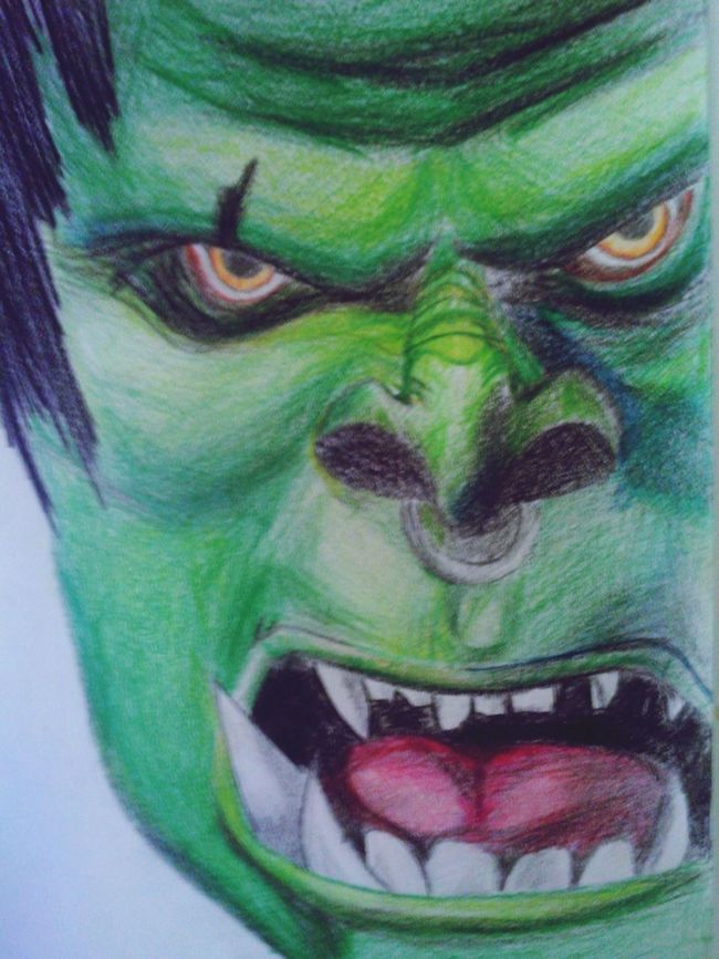 Drawing Ork WOW
