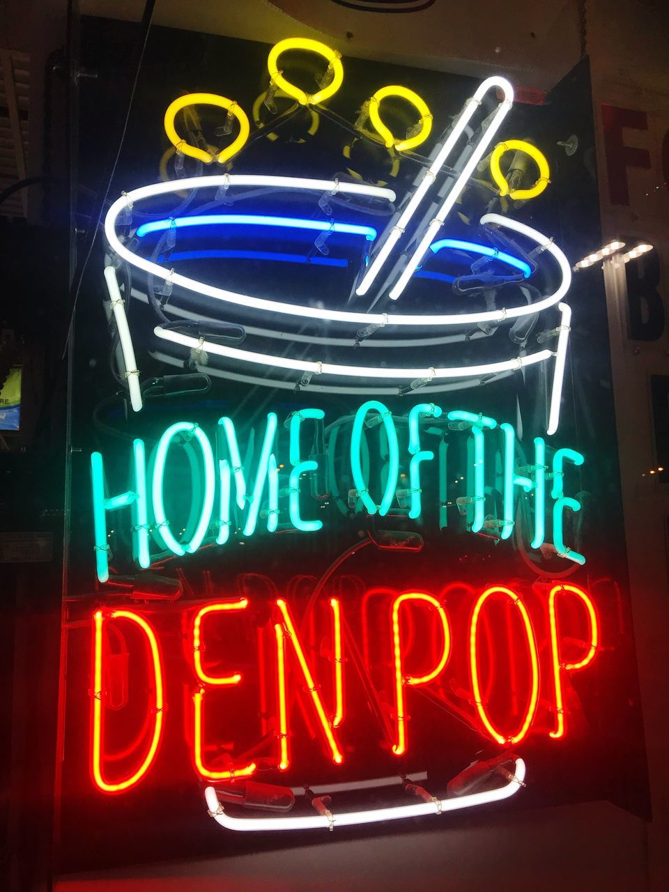 neon, illuminated, night, text, open sign, no people, multi colored, close-up, outdoors