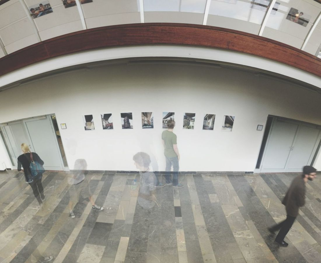 my very first exhibition!! Panorama At An Exhibition Design Students