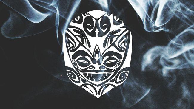 Tribal Hawaiian Samoan Historical Tradition Cultural War Paint Body Mark
