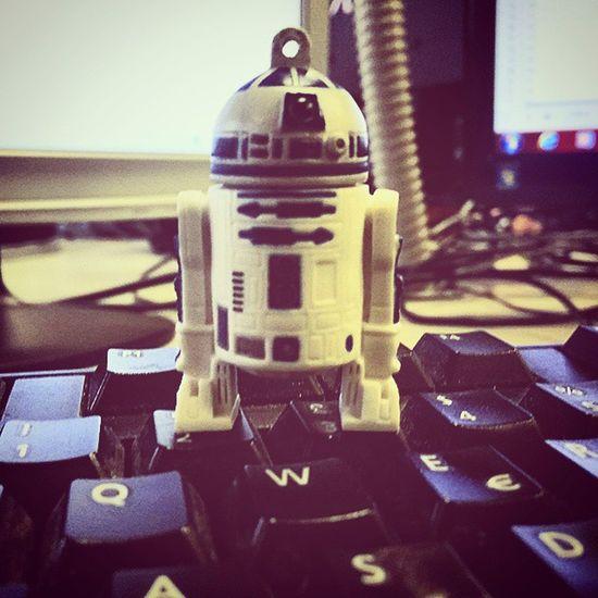 Sw7 Starwars7 r2-d2 mi è venuto a trovare in ufficio