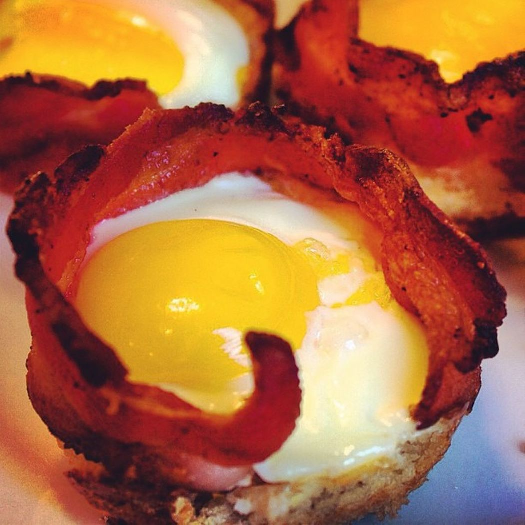 """""""Since everybody's posting about bacon, guess what I'm having??? Lol"""" Foodtrip Foodporn Bacon Baconday food"""