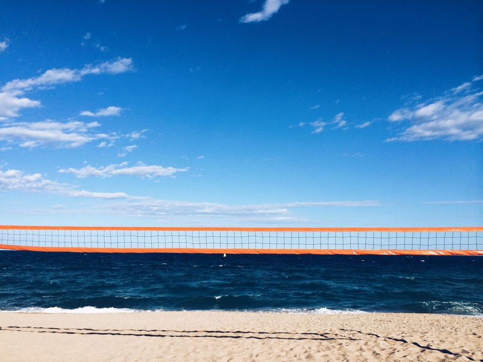 Beautiful stock photos of volleyball, Absence, Badalona, Beach, Beach Volleyball