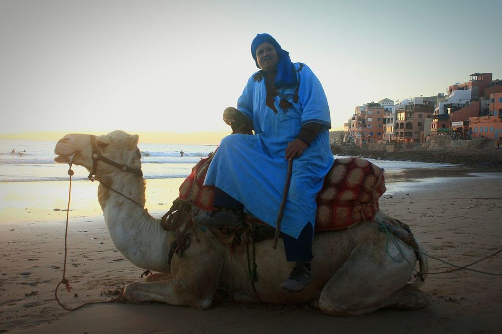 Camel Morocco Riding Around Guide Travel Photography