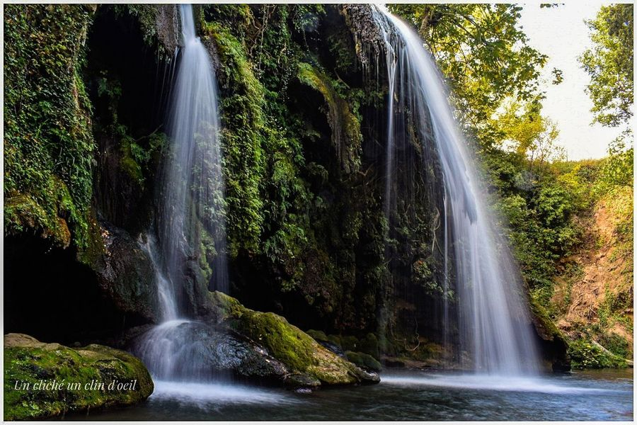 Waterfall Water Motion Long Exposure No People Scenics Nature Beauty In Nature Outdoors Tree Speed Spraying Travel Destinations Day Vacations Power In Nature Lost In The Landscape Unclicheunclindoeil EyeEmNewHere Connected By Travel
