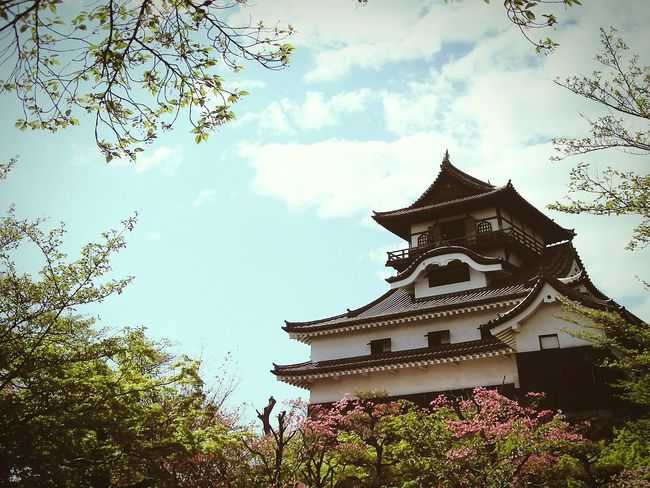 Japanese Castle Inuyama Inuyama Castle Japan Taking Photos Eyeemphotography View EyeEm Best Shots Castle Sky Nature 風景 空 景色 城