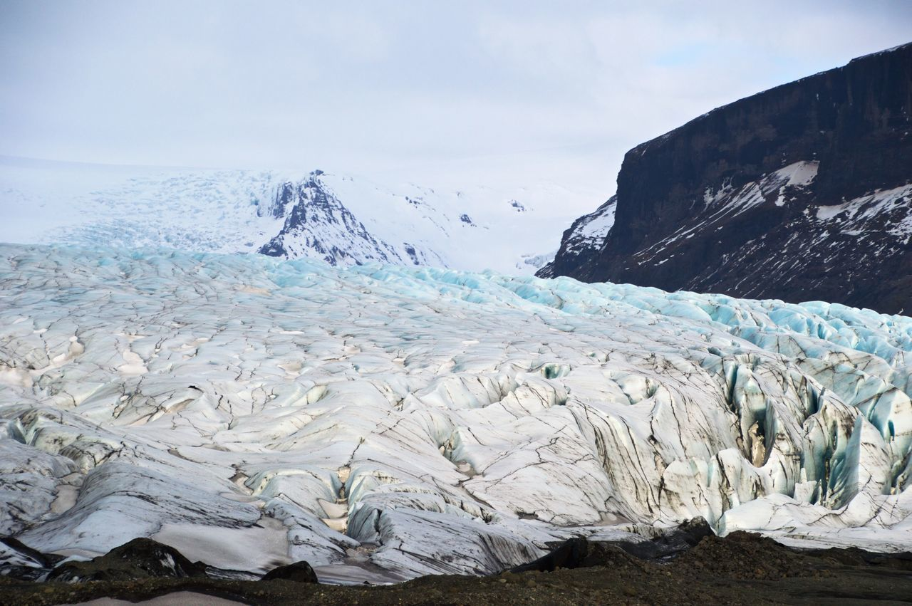 Ash Layers Big Ice Chunk Cold Cold Temperature Geology Glacier Glacier Is Coming Hiking Ice Ice Blue Ice Galore Iceland Icescape Landscape Mountain Nature Photography Physical Geography Roadtrip With The Cousins Rocky Mountains Scenics Sea Of Ice Snow Snowcapped Travel Photography Winter