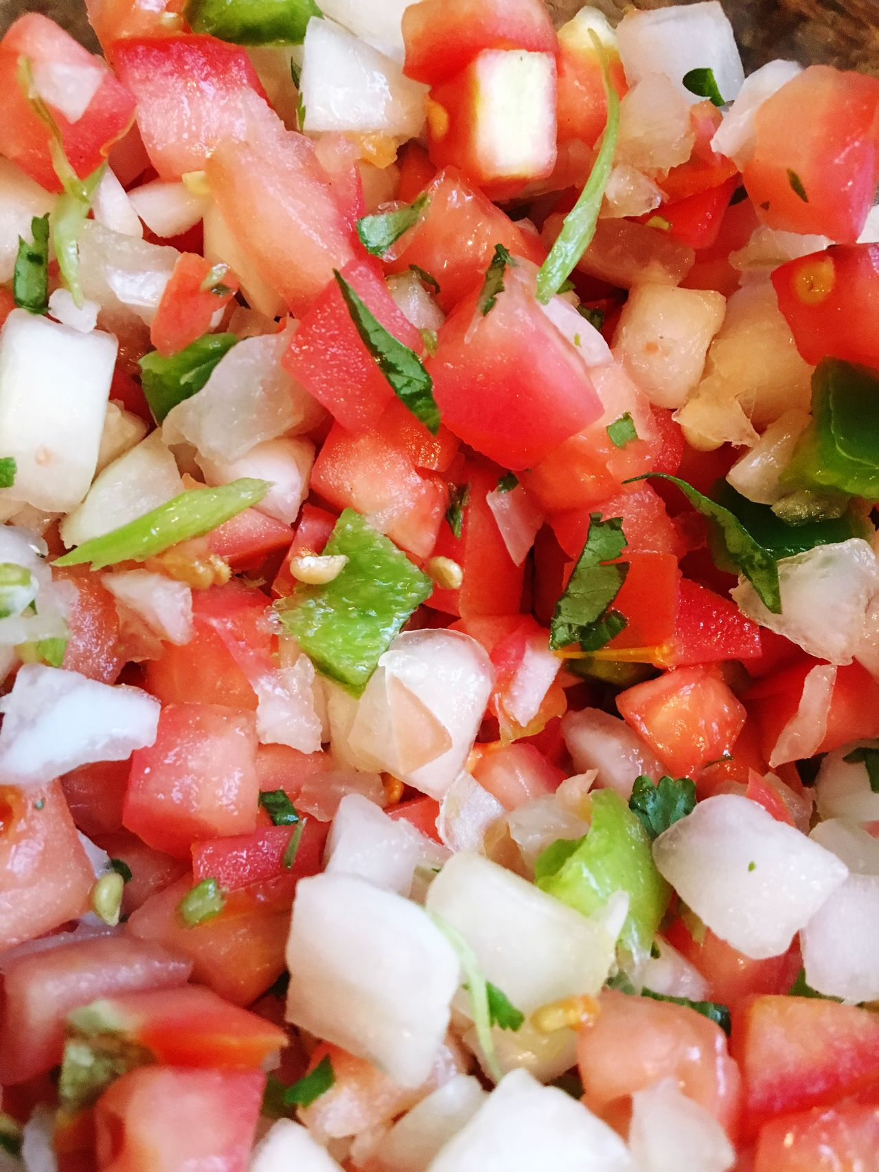 Dinner time.... Yummy Foodie Food Healthy Veggies Pico De Gallo Colorful My Favorite  My Photo Homemade Chef Tasty😋 Tasty Food Come Get Some