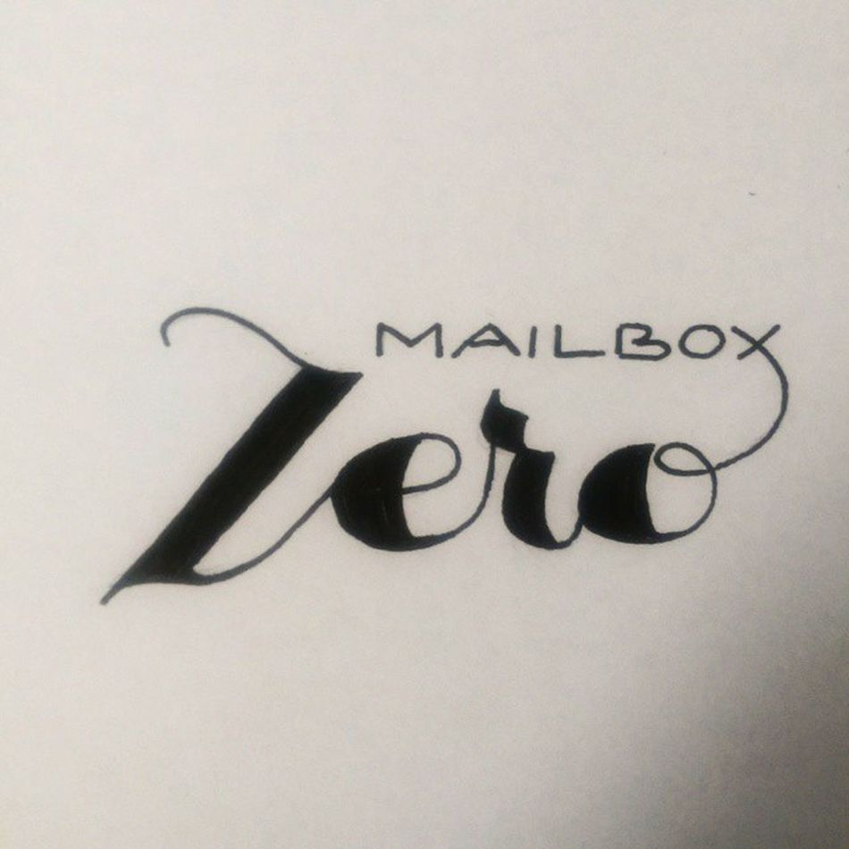 Handlettering Lettering Mailboxzero Email