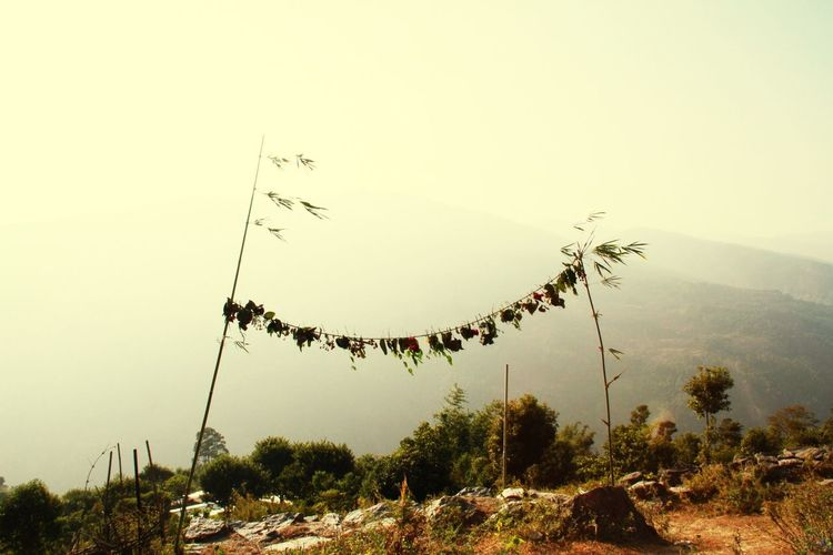 Nepal #travel Home To Dolakha Prayer Flags  Nepal Earthquake Operation Walk Chicago Foothills Of The Himalayas Landscape_photography