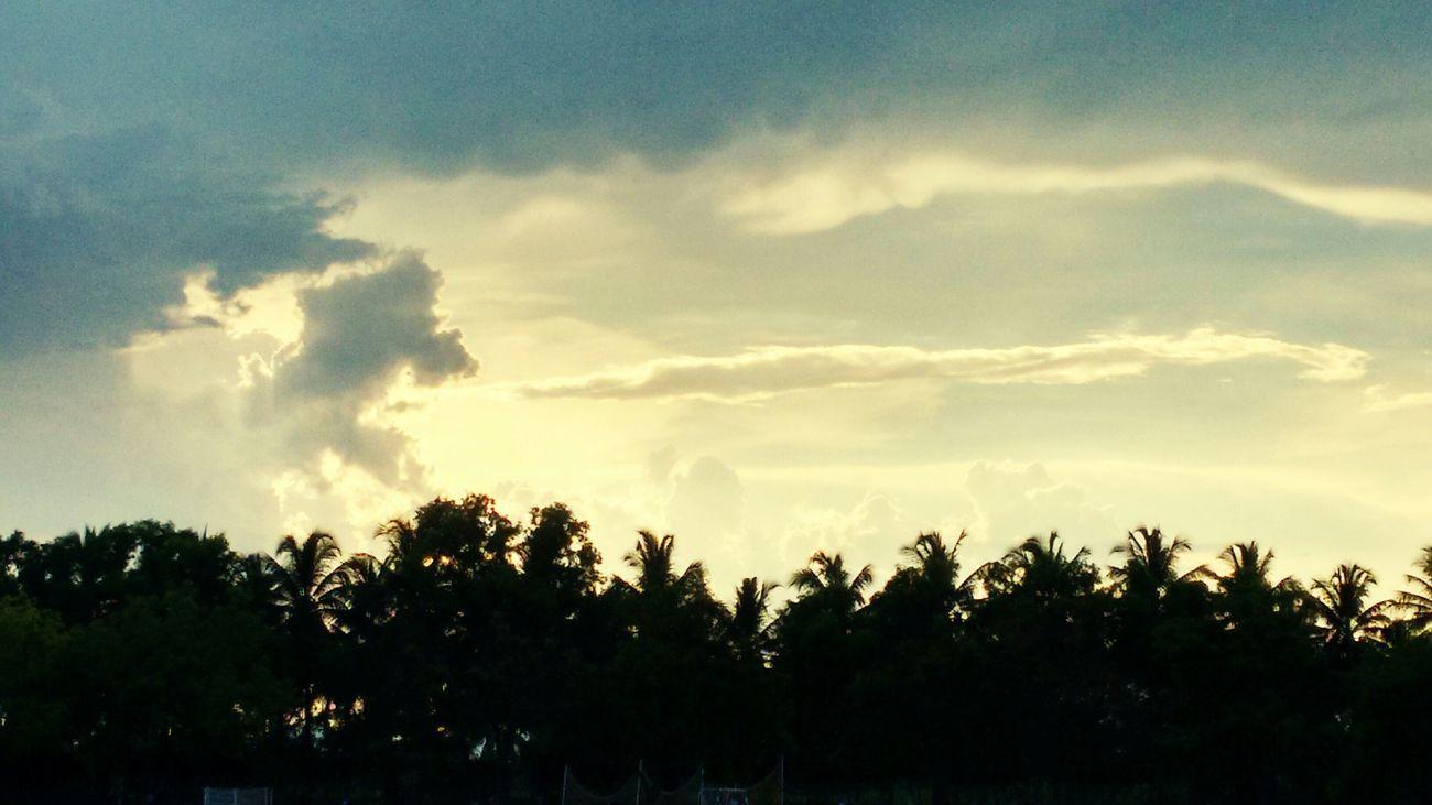 sunset. ..