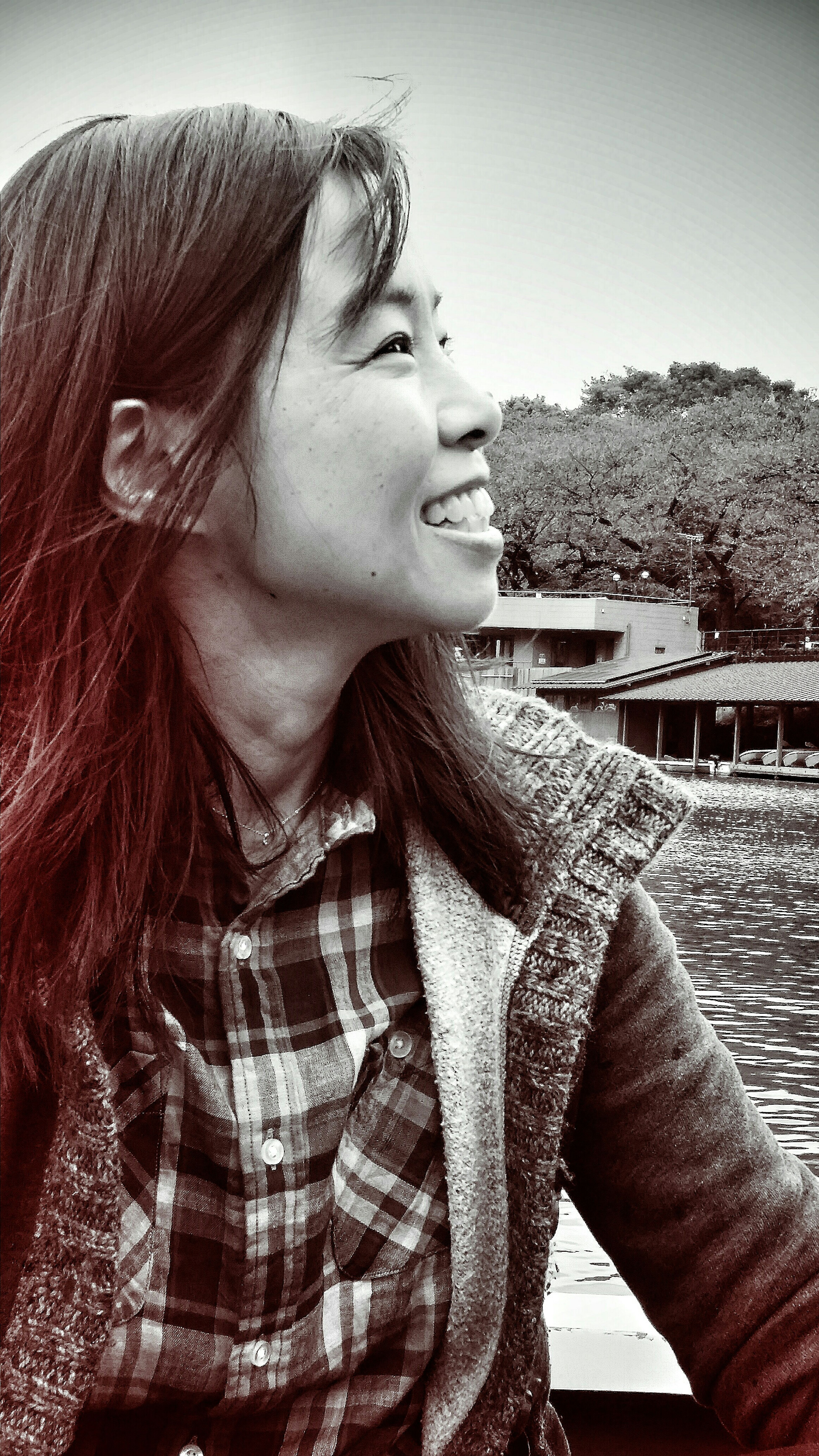 Akiko Smile Smilecollection Portrait Portrait Of A Friend Boating Chidorigafuchi Chiyoda Moat Imperial Palace EarlyNov2015 Tokyoautumn2015 Tokyo Japan Travelphotography