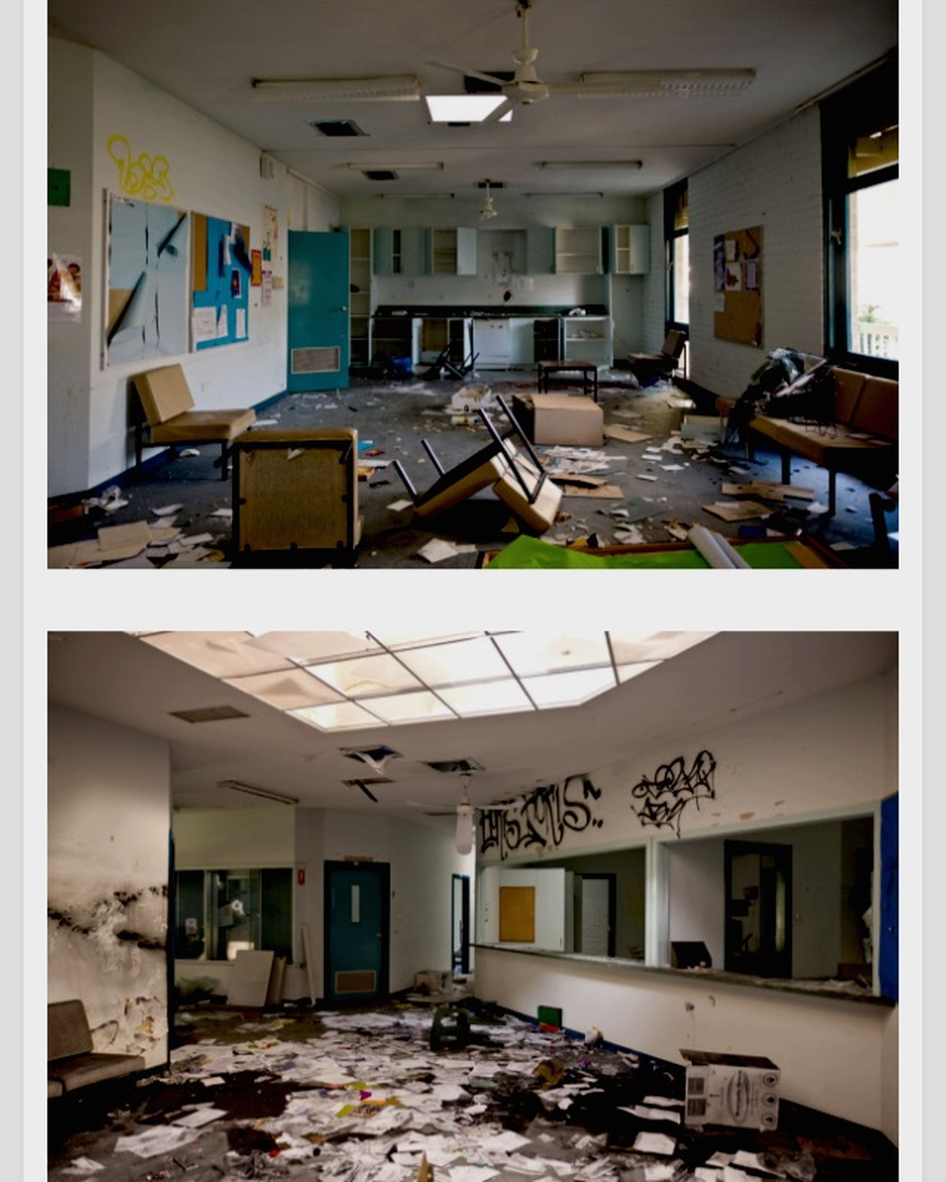 This is what school will look like after I finish Urbex Pembroke High School For Real I Want To Explore Abandoned Buildings
