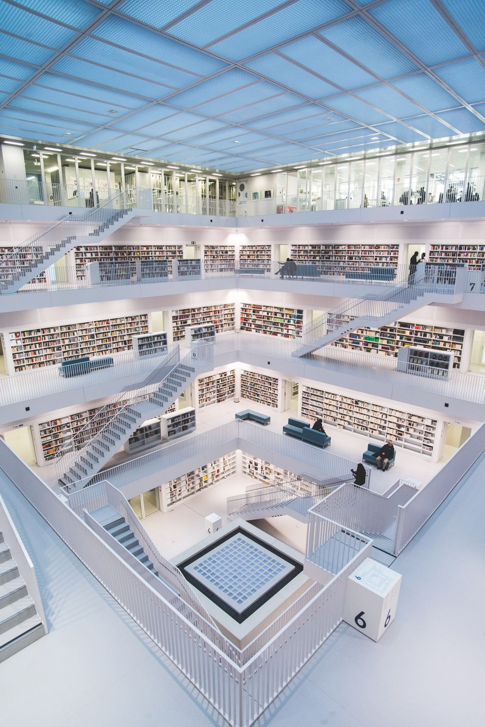 Architecture Business High Angle View No People Built Structure Corporate Business Day Indoors  Modern Business Finance And Industry Bookshelf Library
