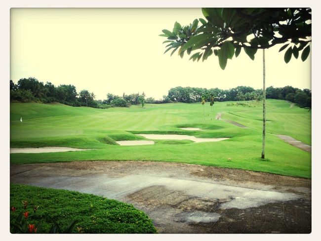 Heading To Goft Course Side For Lunch
