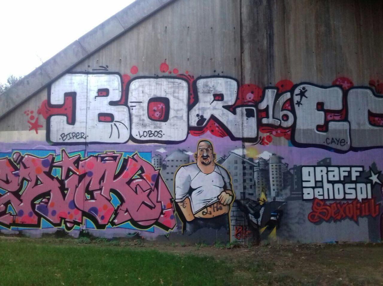 Grand Theft Auto in Hospitalet Cornellà Barcelona Graffiti Graffitiart Art Streetart