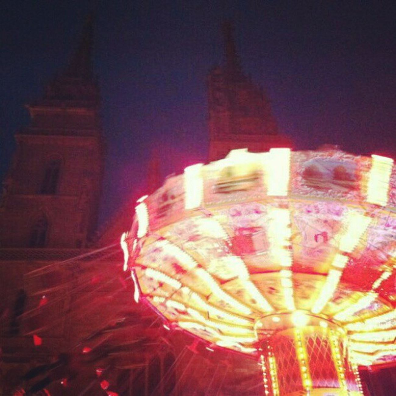 Christmasmarket Christmas Market Funrides fun rides basel Switzerland winter 2012 munsterplatz munster platz