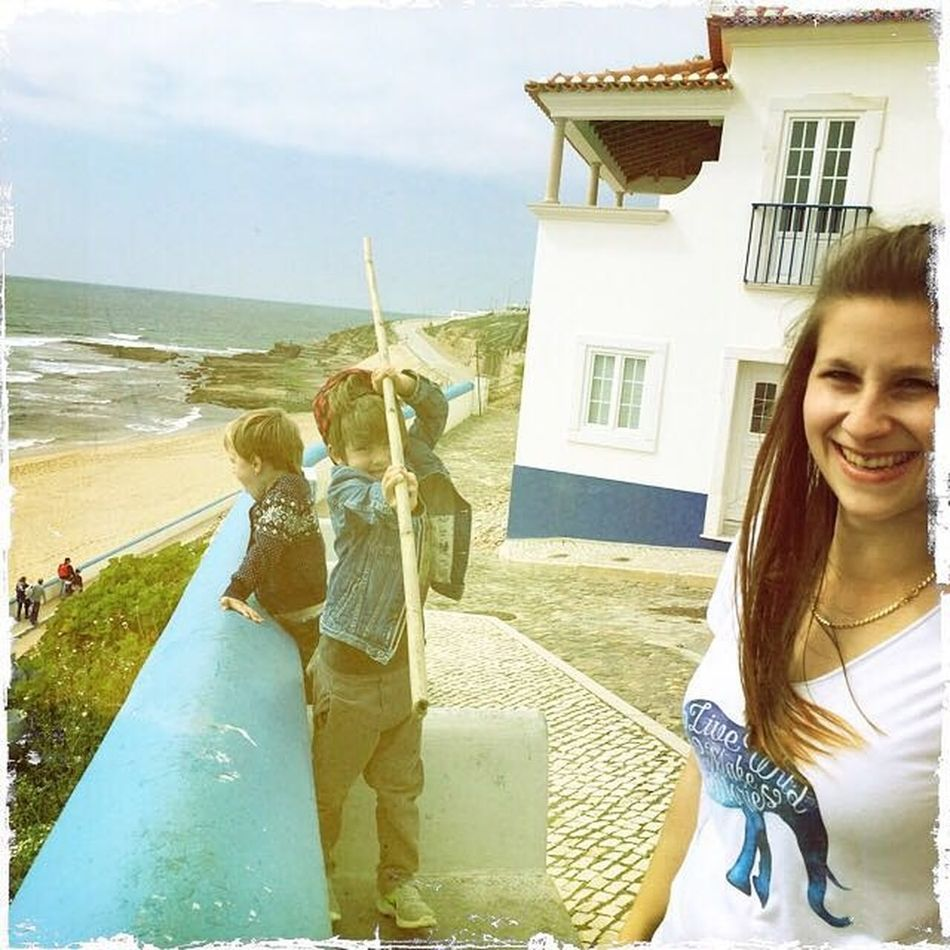 Vacation Secondfamily Portugal Fun Cute Boys Kids Gooutsideandplay Sticksandstones Love Lifeisgood