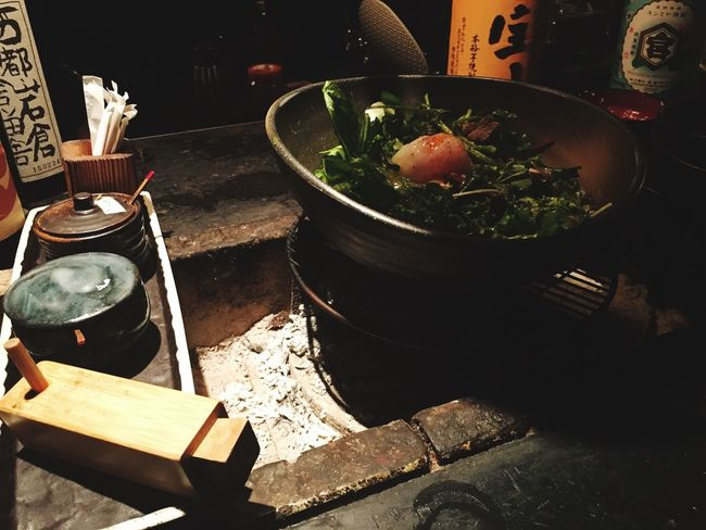 Food And Drink Bowl Table Food Freshness Wooden Culture Meal Day No People Ready-to-eat Japanese Food Salad