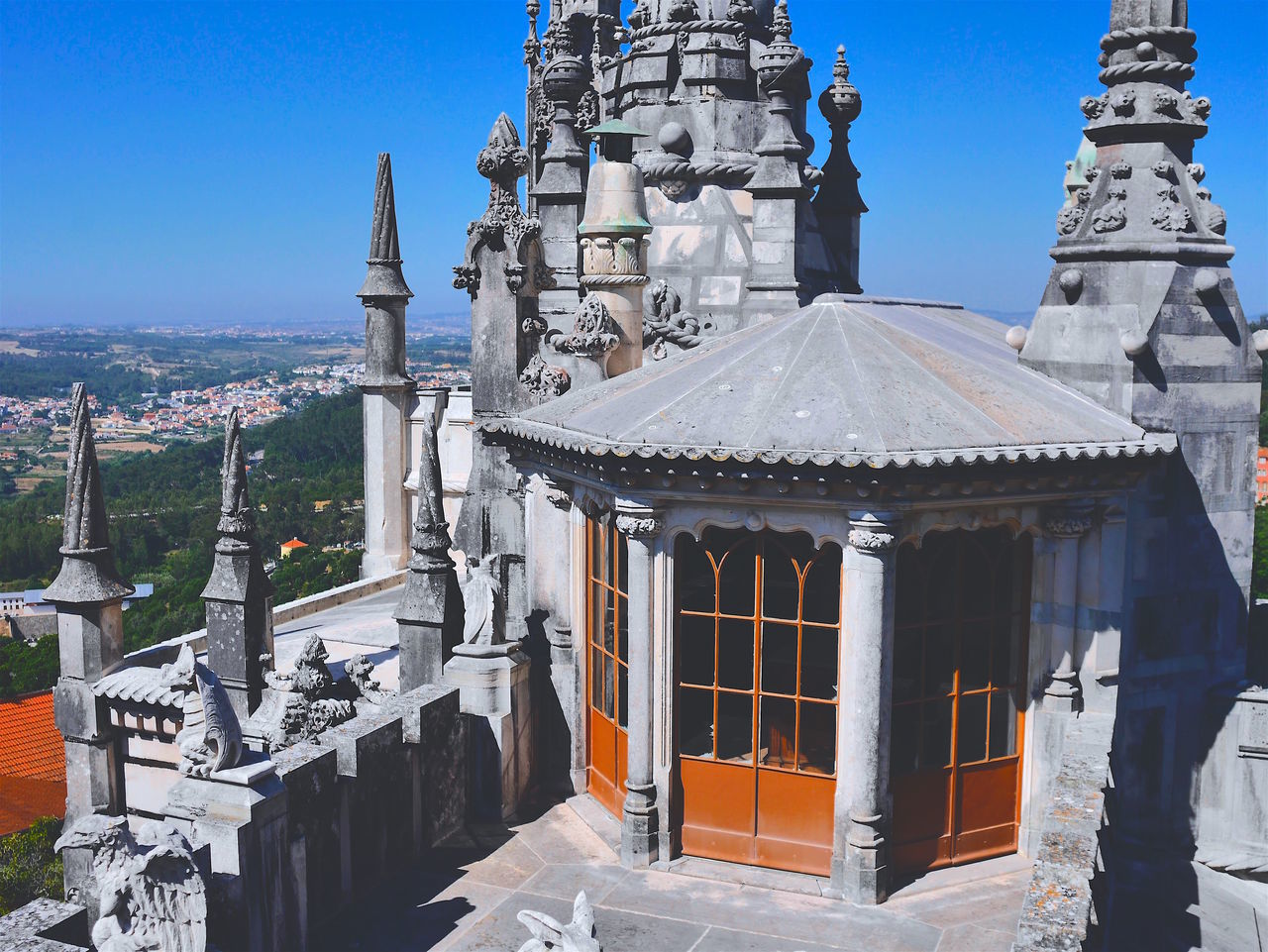Architecture Building Exterior Built Structure City Break Clear Sky Dome Excursion History Sculpture Sintra Sintra (Portugal) Sky Travel Destinations