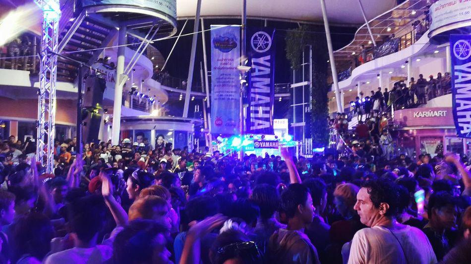 Songkran Festival Party Time Dj Party Dance People Strangers In The Night Play Hard Enjoying Having Fun Hangout