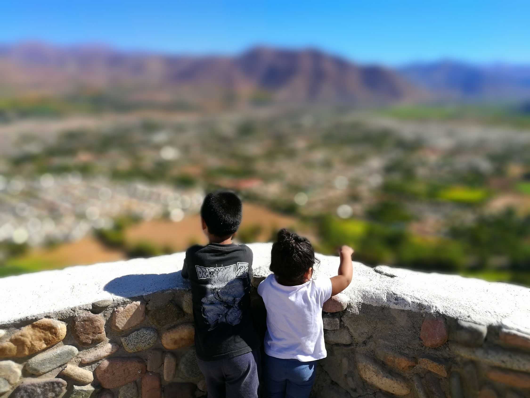 Broders Mybebes Outdoors Nature Child Rear View Two People Togetherness Friendship Brother Happiness People Bonding Hiking Vacations Mountain Day Warm Clothing Adult