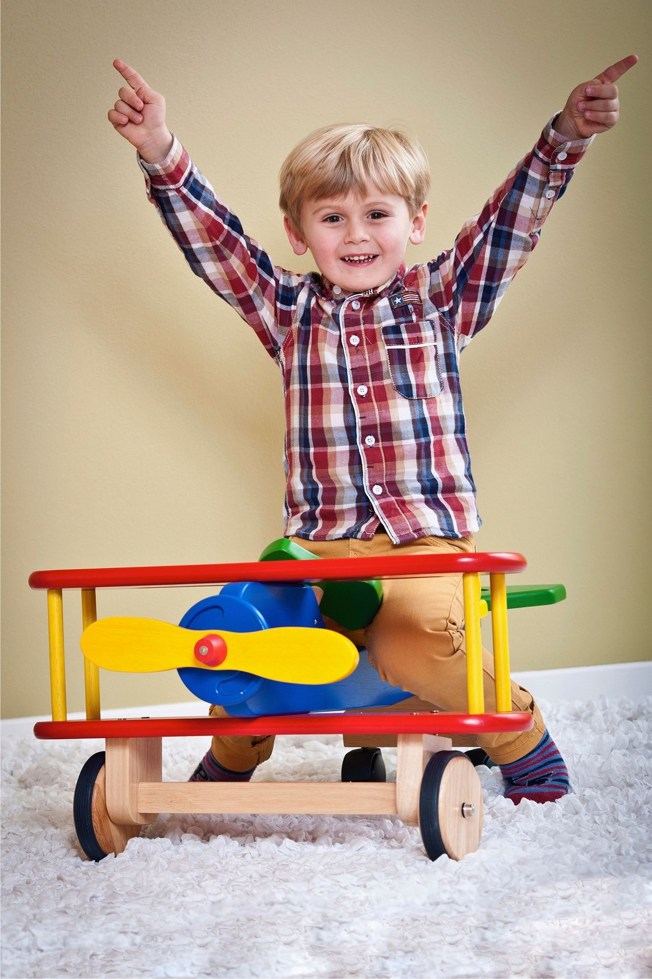 Beautiful stock photos of toys, Arms Raised, Blond Hair, Carefree, Childhood