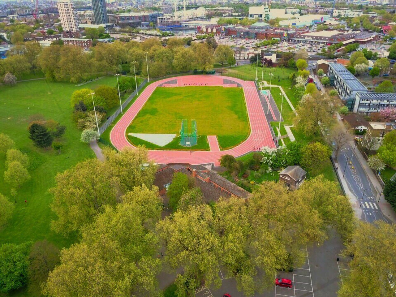 Sports Running London Park Southwark Park Green Green London Dronephotography Drone  Aerial View Aerial Photography