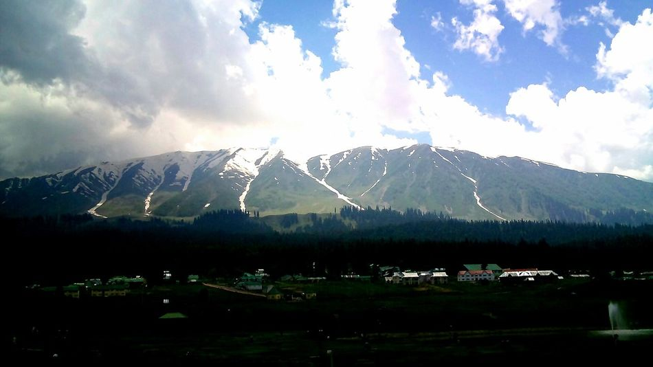 Mountain Beauty In Nature Mountain Peak Sunbeam Sunset Outdoors Nature Sky No People Summer Landscape Tranquility Vacations Calm Day JammuandKashmir Kcphotography Mountain Range Cold Temperature Polar Climate